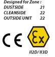 Dustcontrols' S 34000 EX is CE and EX marked