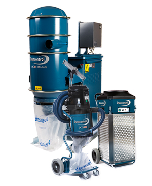 Dustcontrol's dust extractors and aircleaners